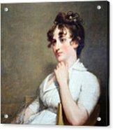 Stuart's Eleanor Parke Custis Lewis Or Mrs. Lawrence Lewis Acrylic Print