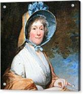 Stuart's Henrietta Marchant Liston Or Mrs. Robert Liston Acrylic Print