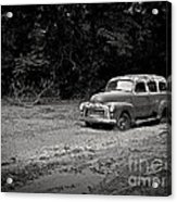 Stuck In The Mud Acrylic Print by Edward Fielding