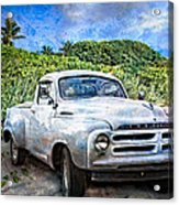 Studebaker Goes To The Beach Acrylic Print