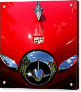 Studebaker In Red Acrylic Print