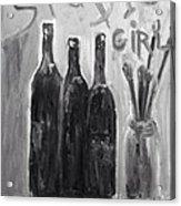 Studio Girl Acrylic Print