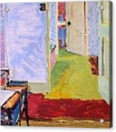 Studio Space, Ivor Street, Nw1 Oil On Canvas Acrylic Print