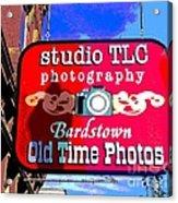 Studio Tlc In Bardstown Kentucky Acrylic Print
