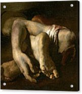 Study Of Feet And Hands, C.1818-19 Oil On Canvas Acrylic Print