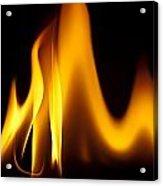 Study Of Flames I Acrylic Print