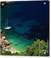 Stunning Beach Kefalonia Acrylic Print