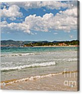 Stunning Clouds Over Cote Dazur Acrylic Print