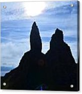 Stunning Old Man Of Storr Acrylic Print