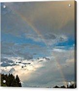 Stunning Rainbow Acrylic Print
