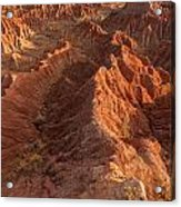 Stunning Red Rock Formations Acrylic Print