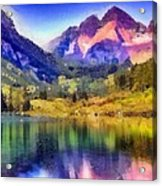 Stunning Reflections Acrylic Print