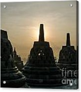 Stupah At Borobudur Acrylic Print