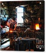 Sturbridge Village Blacksmith Acrylic Print