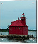 Sturgeon Bay Lighthouse Acrylic Print