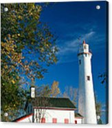 Sturgeon Point Lighthouse Acrylic Print