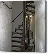Sturgeon Point Lighthouse Spiral Staircase Acrylic Print