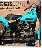 Sturgis Motorcycle Rally Acrylic Print