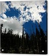 Subalpine Summer Skies Acrylic Print