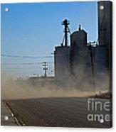 Sublette Dust Storm Acrylic Print