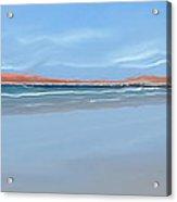 Sublime Beach Panoramic Acrylic Print