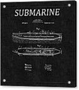 Submarine Patent 8 Acrylic Print