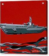 Submarine Sandwhich Acrylic Print