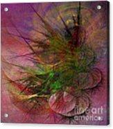 Subtle Echoes - Square Version Acrylic Print