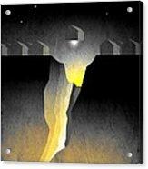 Suburban Fracture  Acrylic Print by Milton Thompson