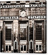 Suburban Station Acrylic Print