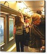 Subway Art Acrylic Print