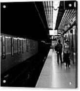 Subway Acrylic Print by BandC  Photography