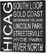 Subway Chicago 2 Acrylic Print