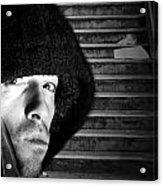 Subway Stairs Acrylic Print