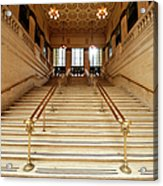 Subway Station Staircase,chicago Acrylic Print