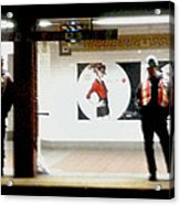 Subway Workers Acrylic Print