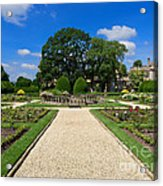 Sudeley Castle Gardens In The Cotswolds Acrylic Print