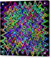 Sudoku Connections Wave Acrylic Print