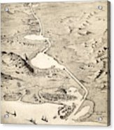 Suez Canal Acrylic Print