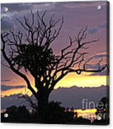Suffolk Sunset Recalled Acrylic Print