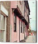 Suffolk Town Houses Acrylic Print