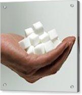 Sugar Consumption Acrylic Print
