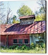 Sugar House Of Old Acrylic Print