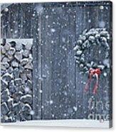 Sugarhouse At Christmas Acrylic Print