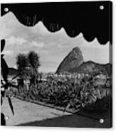 Sugarloaf Mountain Seen From The Patio At Carlos Acrylic Print