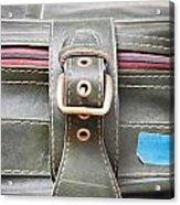 Suitcase Buckle Acrylic Print