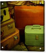 Suitcases In The Attic Acrylic Print