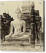 Buddha Sukhothai Thailand 1 Acrylic Print