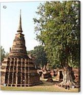 Sukhothai Historical Park - Sukhothai Thailand - 011333 Acrylic Print