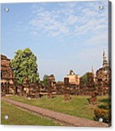 Sukhothai Historical Park - Sukhothai Thailand - 011344 Acrylic Print